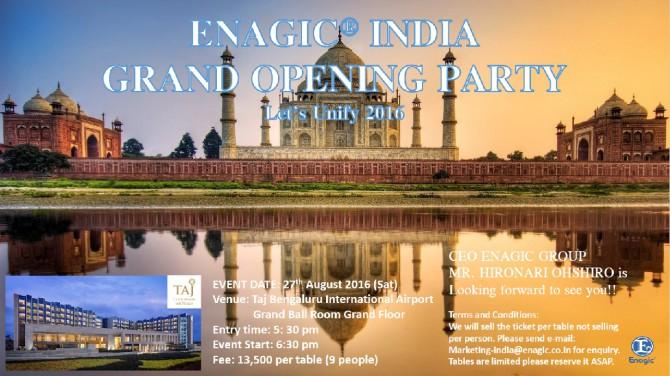 India Enagic